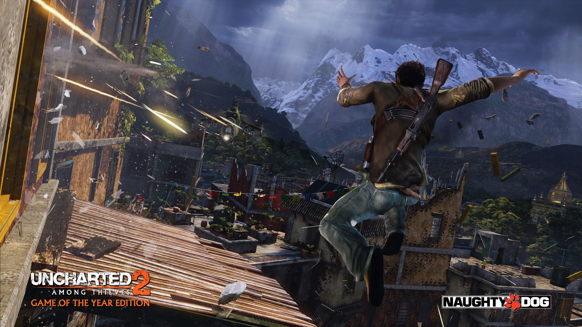 Uncharted 2 Among Thieves Hd Wallpaper Background Image