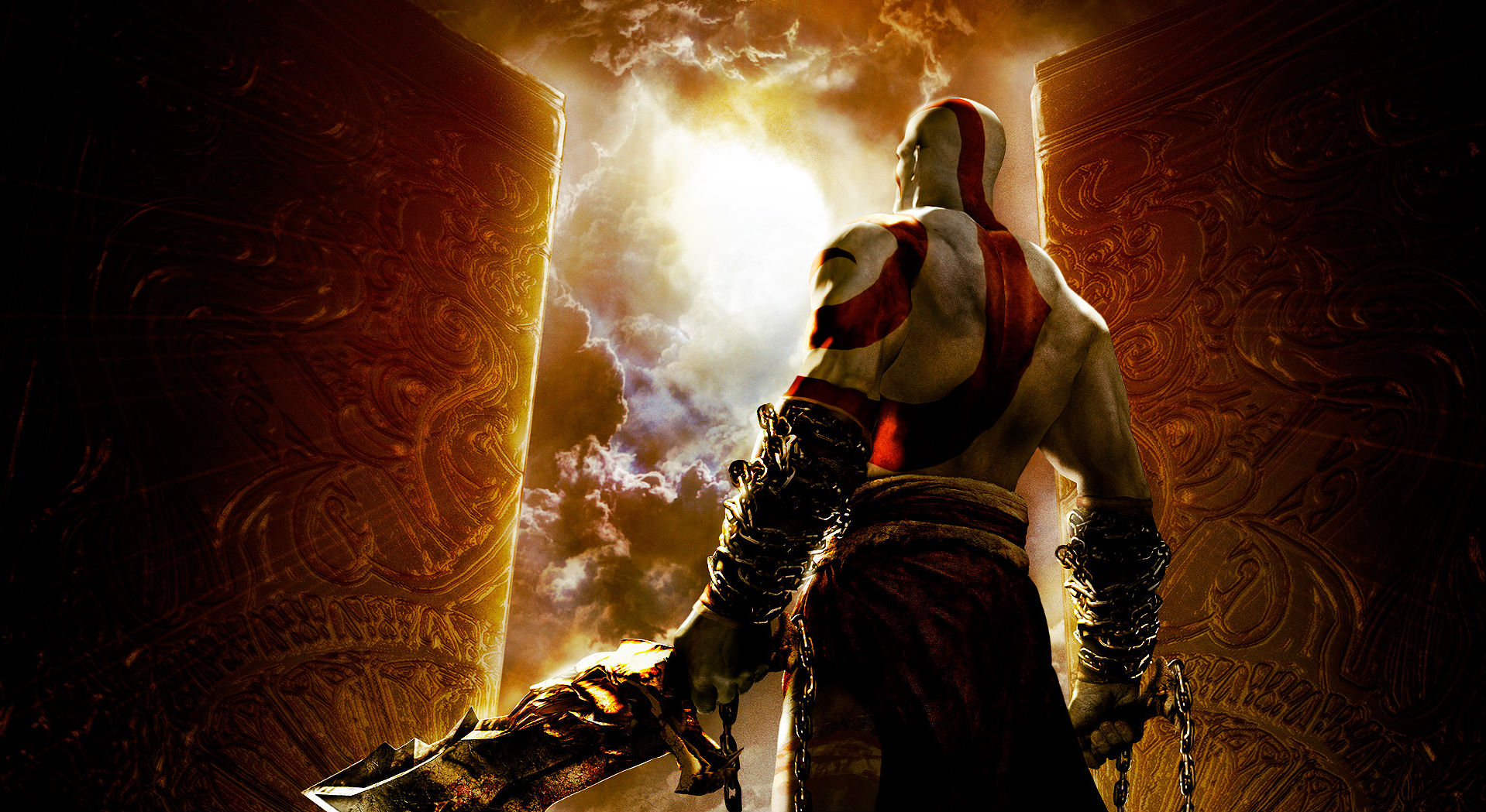 Video Game - God Of War: Chains Of Olympus  Wallpaper