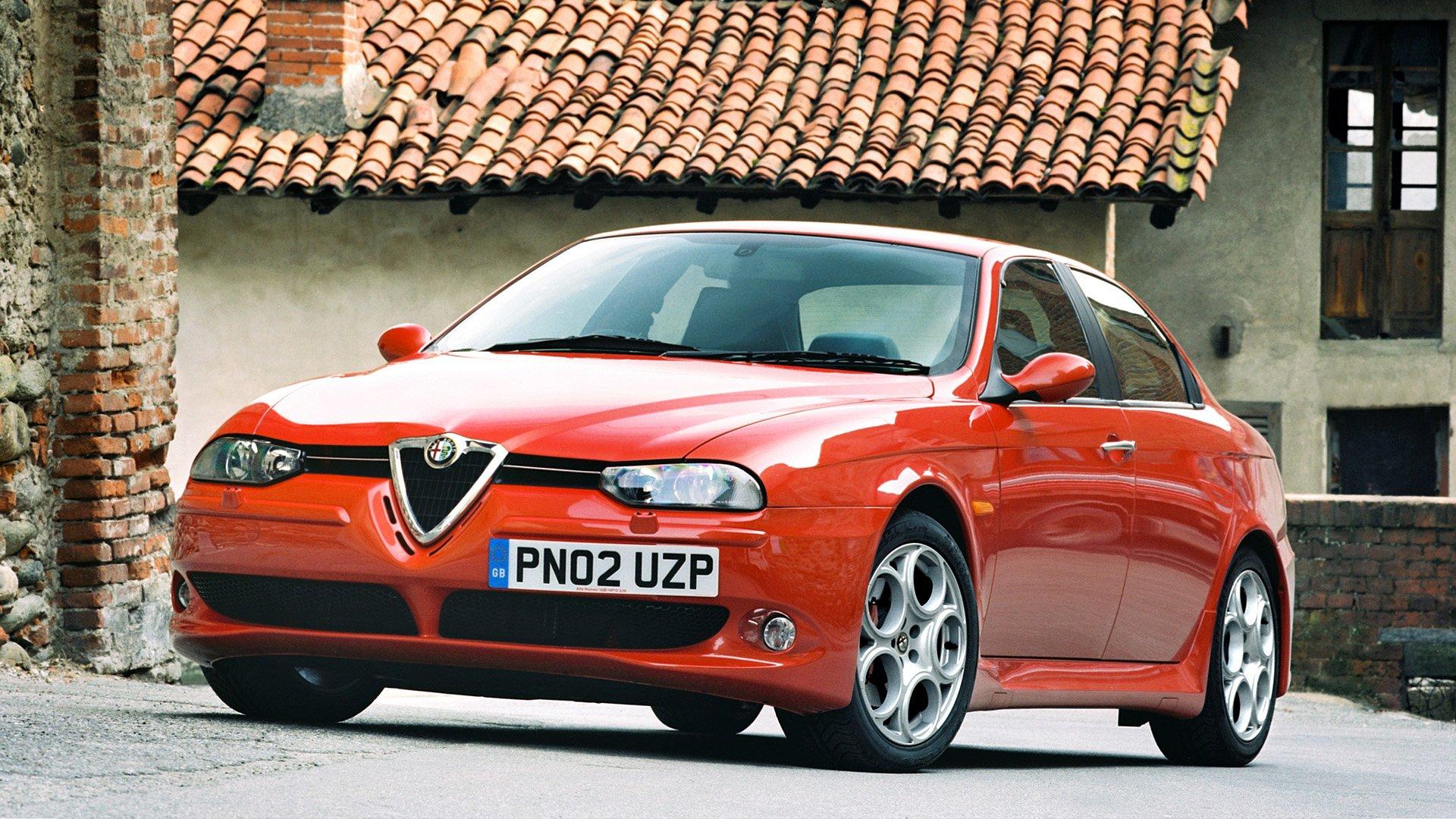 2002 Alfa Romeo 156 Gta Hd Wallpaper Background Image