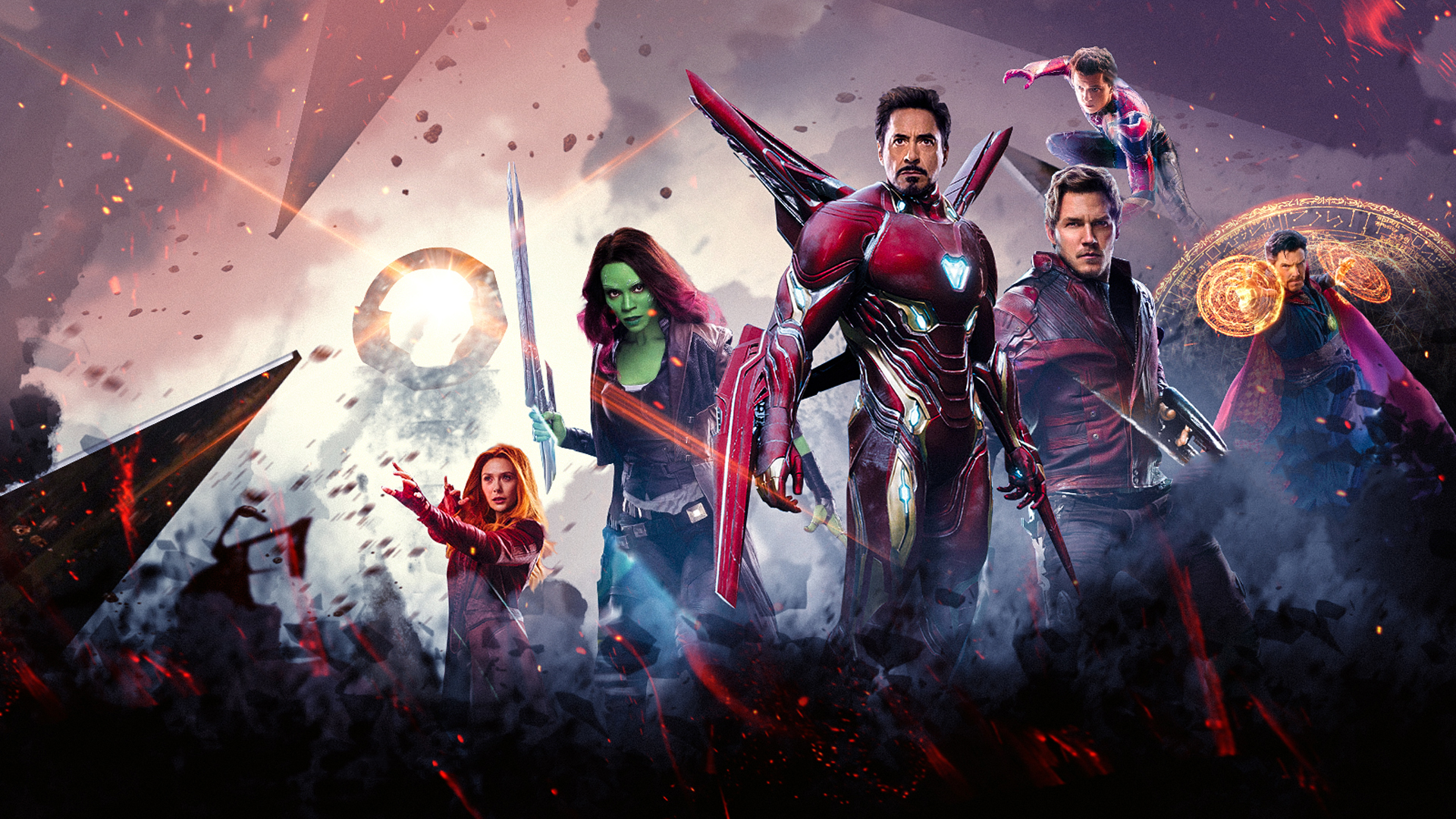 Avengers Infinity War Hd Wallpaper Hintergrund