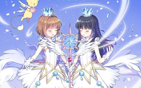 Anime Cardcaptor Sakura Sakura Kinomoto Tomoyo Daidouji Keroberos HD Wallpaper | Background Image