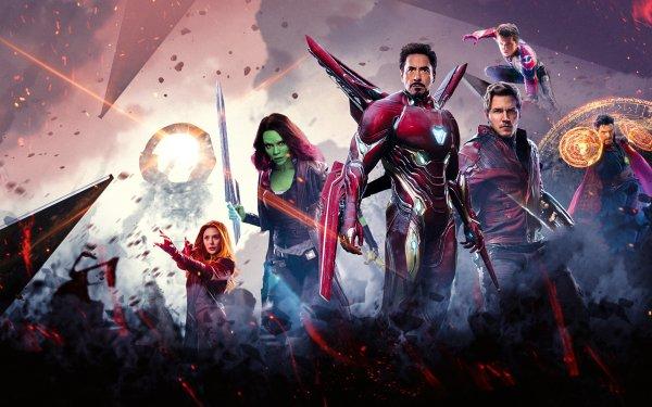Movie Avengers: Infinity War The Avengers Avengers Comics Superhero Iron Man Star Lord Doctor Strange Gamora Scarlet Witch HD Wallpaper | Background Image
