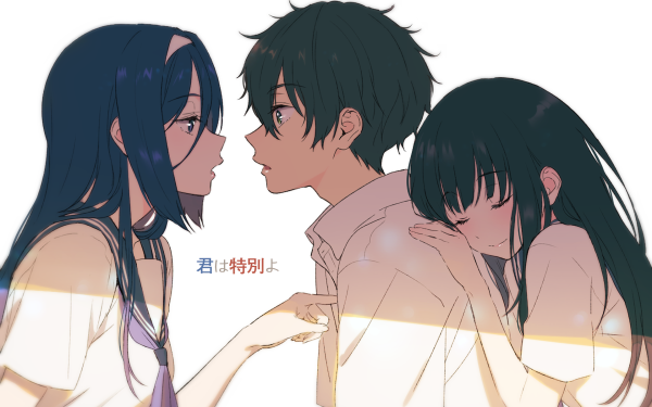 Anime Hyouka Eru Chitanda Hōtarō Oreki Fuyumi Irisu HD Wallpaper   Background Image