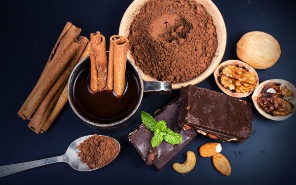 Food Chocolate Still Life Cinnamon HD Wallpaper | Background Image