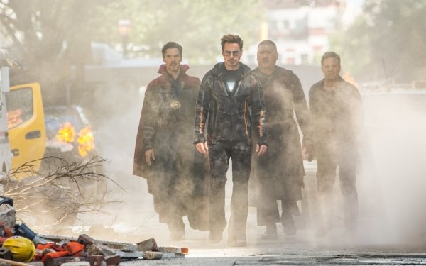 Movie Avengers: Infinity War The Avengers Doctor Strange Iron Man Tony Stark Wong Bruce Banner Benedict Cumberbatch Robert Downey Jr. Benedict Wong Mark Ruffalo HD Wallpaper | Background Image