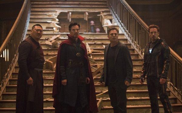 Movie Avengers: Infinity War The Avengers Wong Doctor Strange Bruce Banner Tony Stark Iron Man Benedict Wong Mark Ruffalo Robert Downey Jr. HD Wallpaper | Background Image