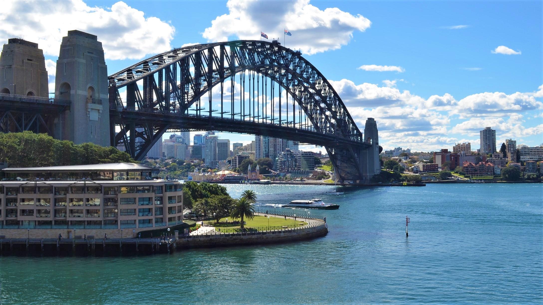 Park Hyatt Sydney And The Sydney Harbour Bridge Sydney Australia