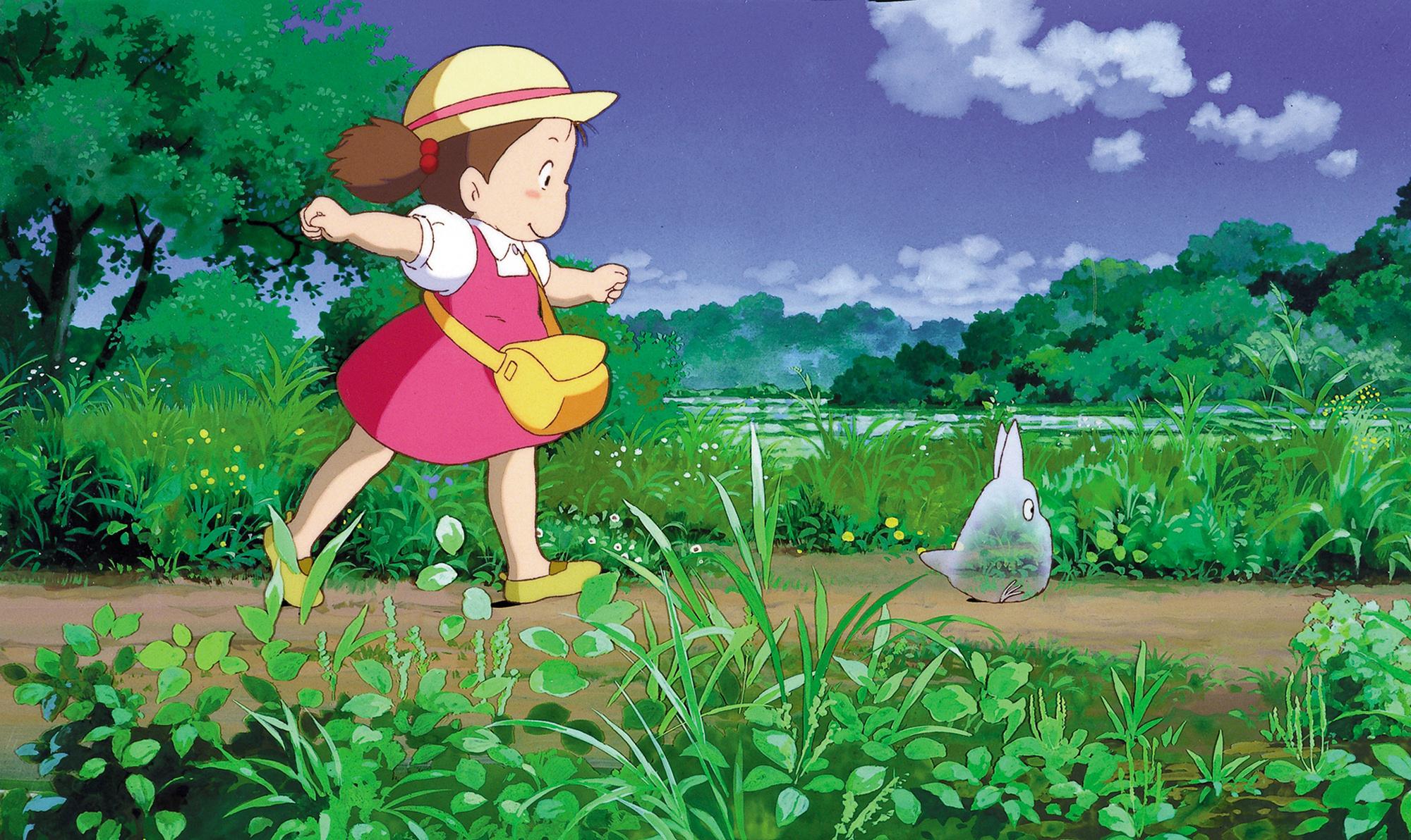 Salah satu karya Hayao M, Totoro
