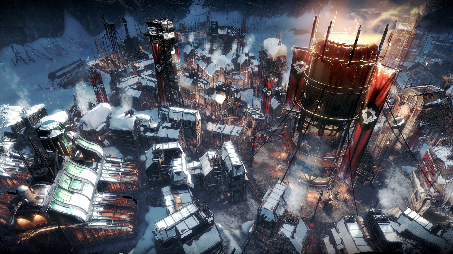 Frostpunk 2018 Game Wallpapers