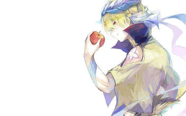Anime Fate/Grand Order Fate Series Gilgamesh Apple HD Wallpaper   Background Image