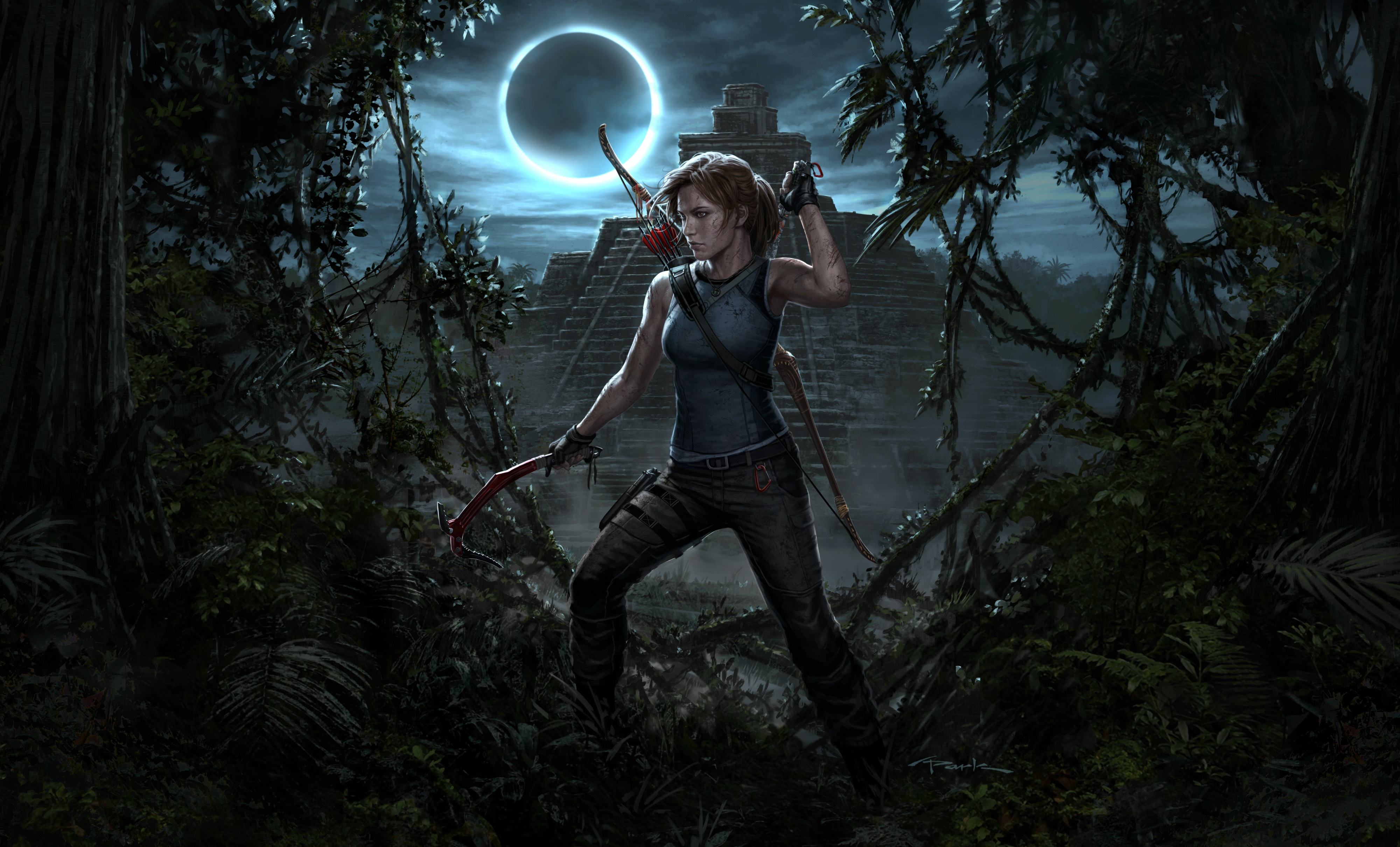 Shadow Of The Tomb Raider 4k Ultra Papel De Parede HD