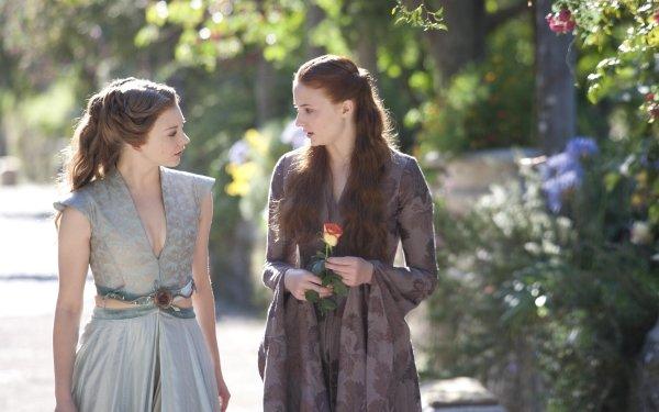 TV Show Game Of Thrones Margaery Tyrell Sansa Stark Natalie Dormer Sophie Turner HD Wallpaper | Background Image