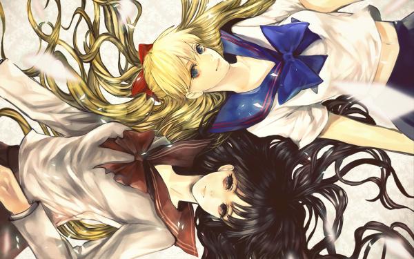 Anime Sailor Moon Minako Aino Rei Hino HD Wallpaper | Background Image