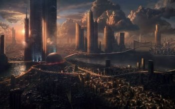 Science-Fiction - Großstadt Wallpapers and Backgrounds ID : 91852