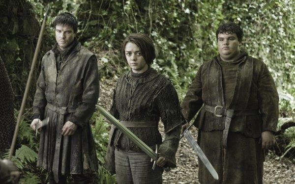 TV Show Game Of Thrones Gendry Arya Stark Maisie Williams Joe Dempsie HD Wallpaper | Background Image