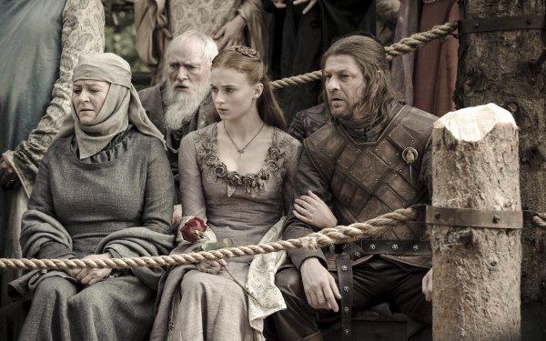 TV Show Game Of Thrones Eddard Stark Sansa Stark Sophie Turner Sean Bean Pycelle Julian Glover HD Wallpaper   Background Image