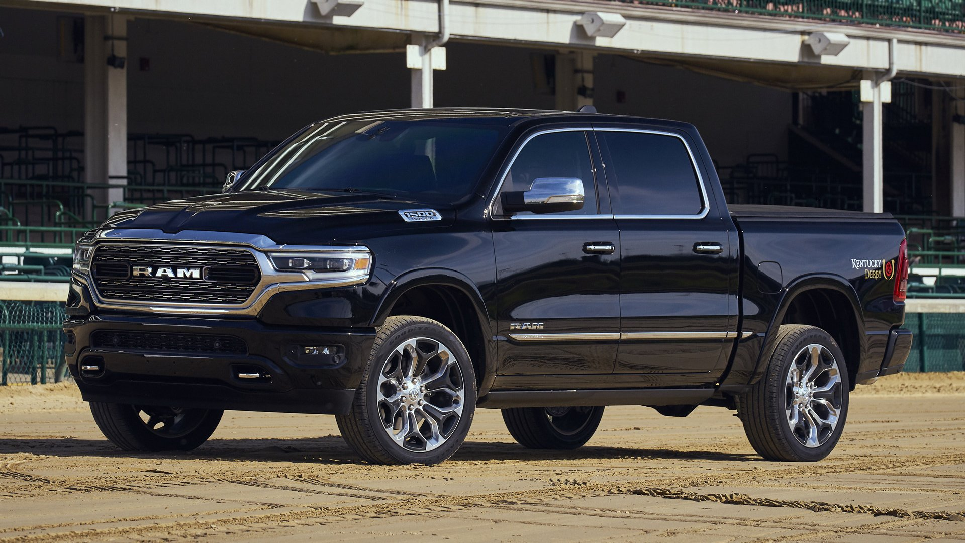 2019 Ram 1500 Limited Crew Cab Kentucky Derby Edition Hd Wallpaper