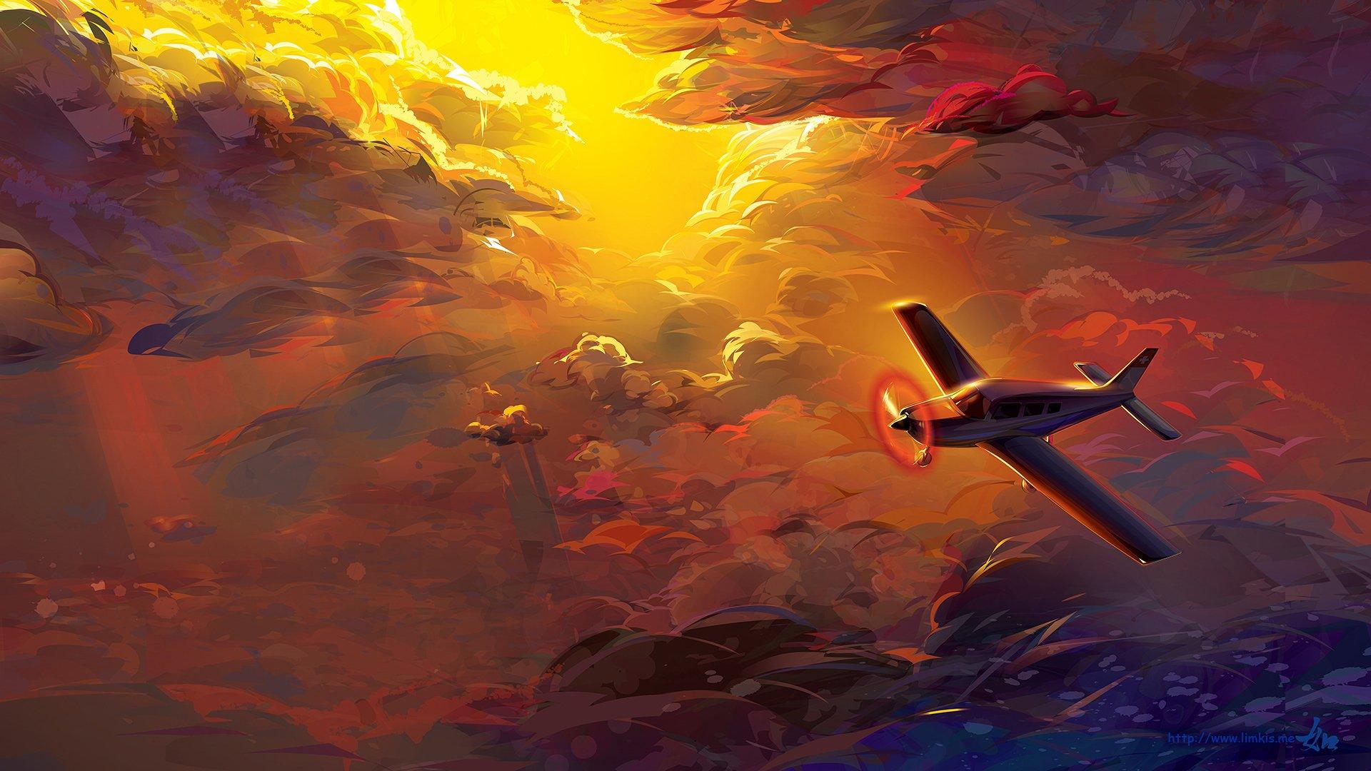 Artistic - Aircraft  Cloud Airplane Wallpaper