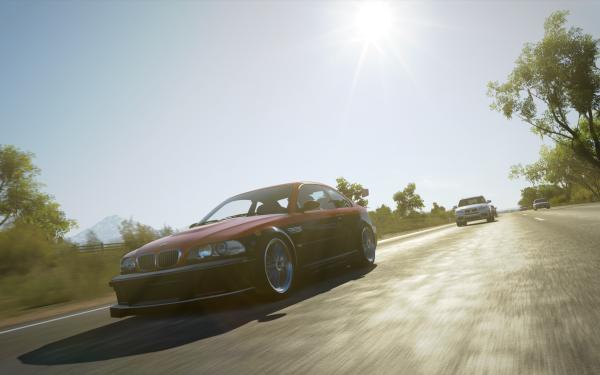 Video Game Forza Horizon 3 Forza BMW M3 Black Car HD Wallpaper   Background Image