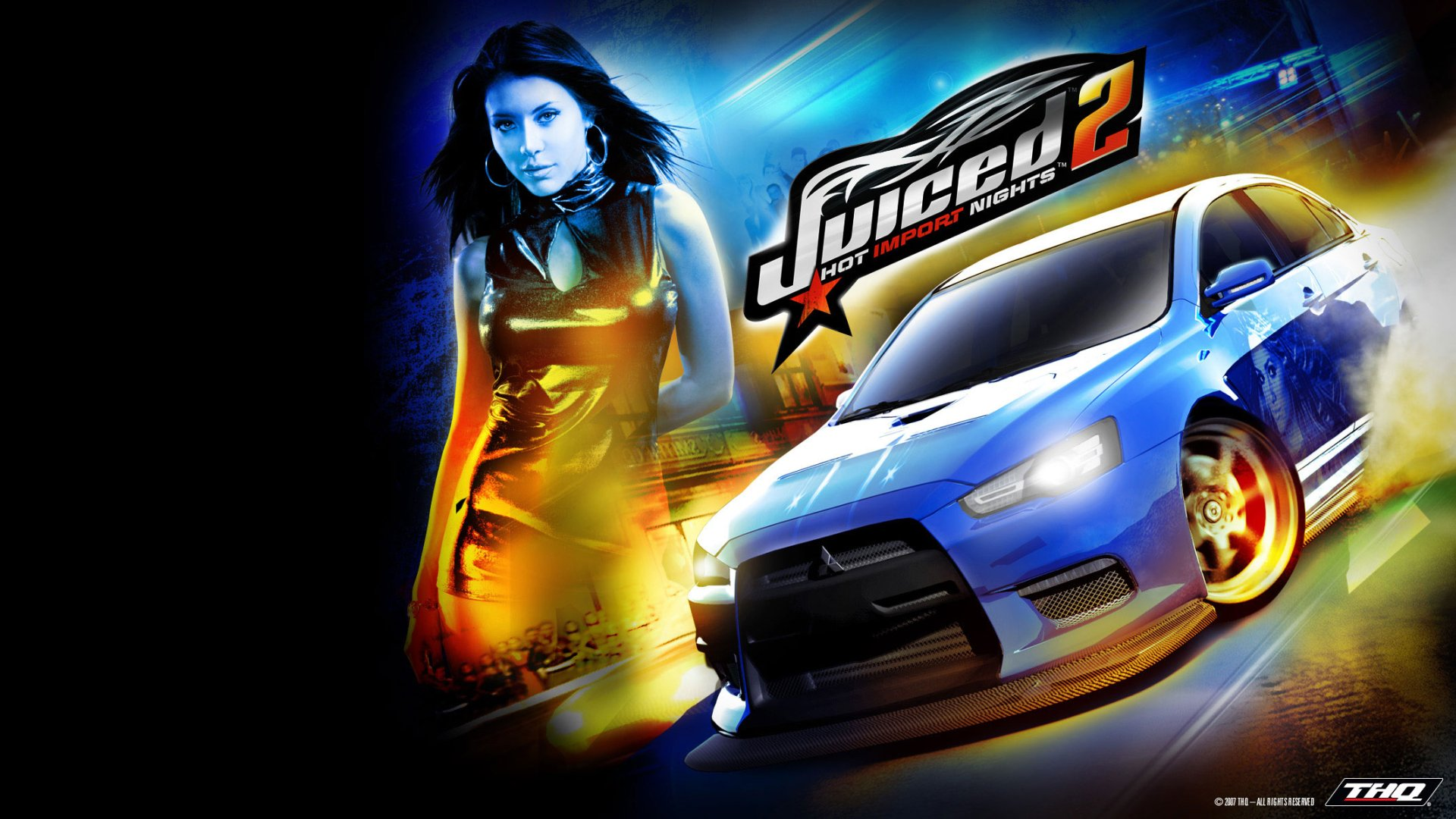Video Game - Juiced 2: Hot Import Nights  Wallpaper