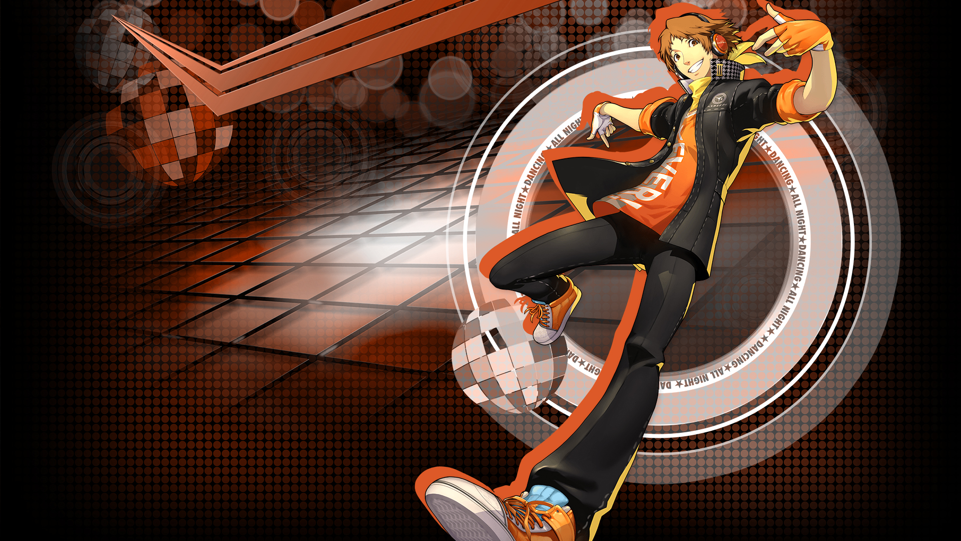 Persona 4 Dancing All Night Yosuke Hanamura Hd Wallpaper