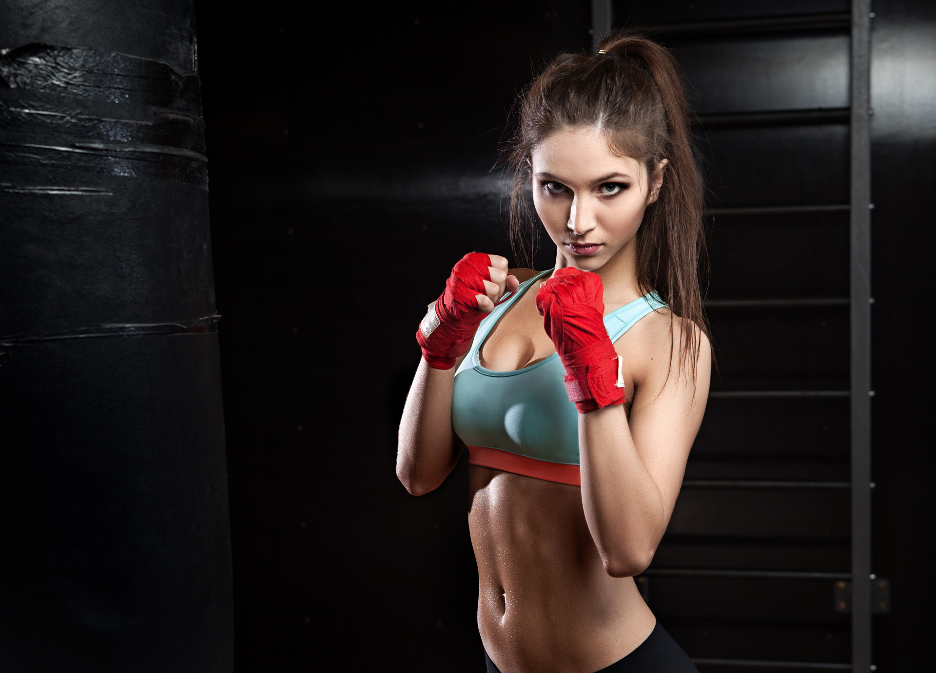 new concept 85fe7 cd940 Cute Fitness Model HD Wallpaper | Background Image ...