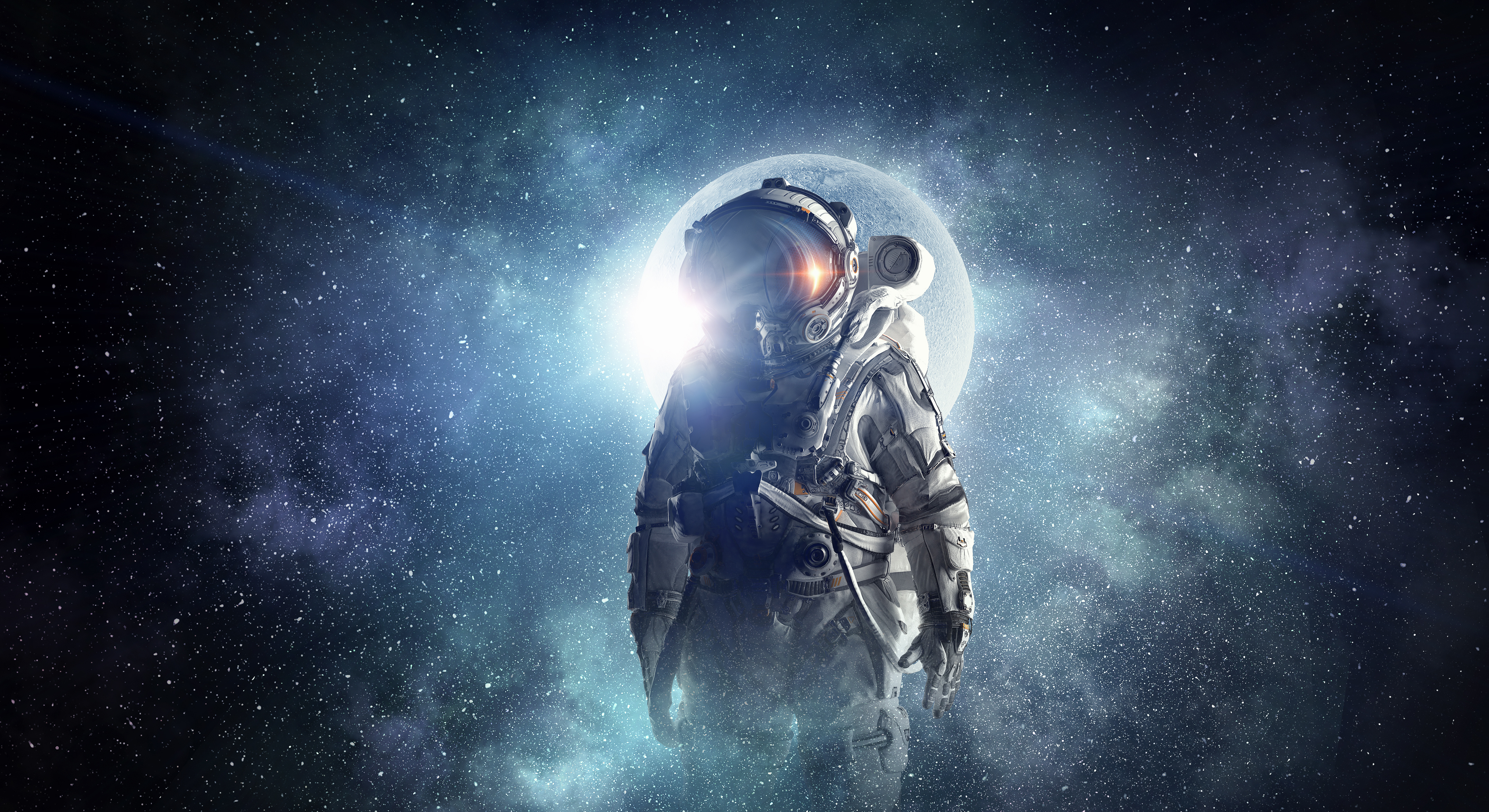 Astronaut 4k Ultra Hd Wallpaper Background Image 4300x2345 Id 923969 Wallpaper Abyss