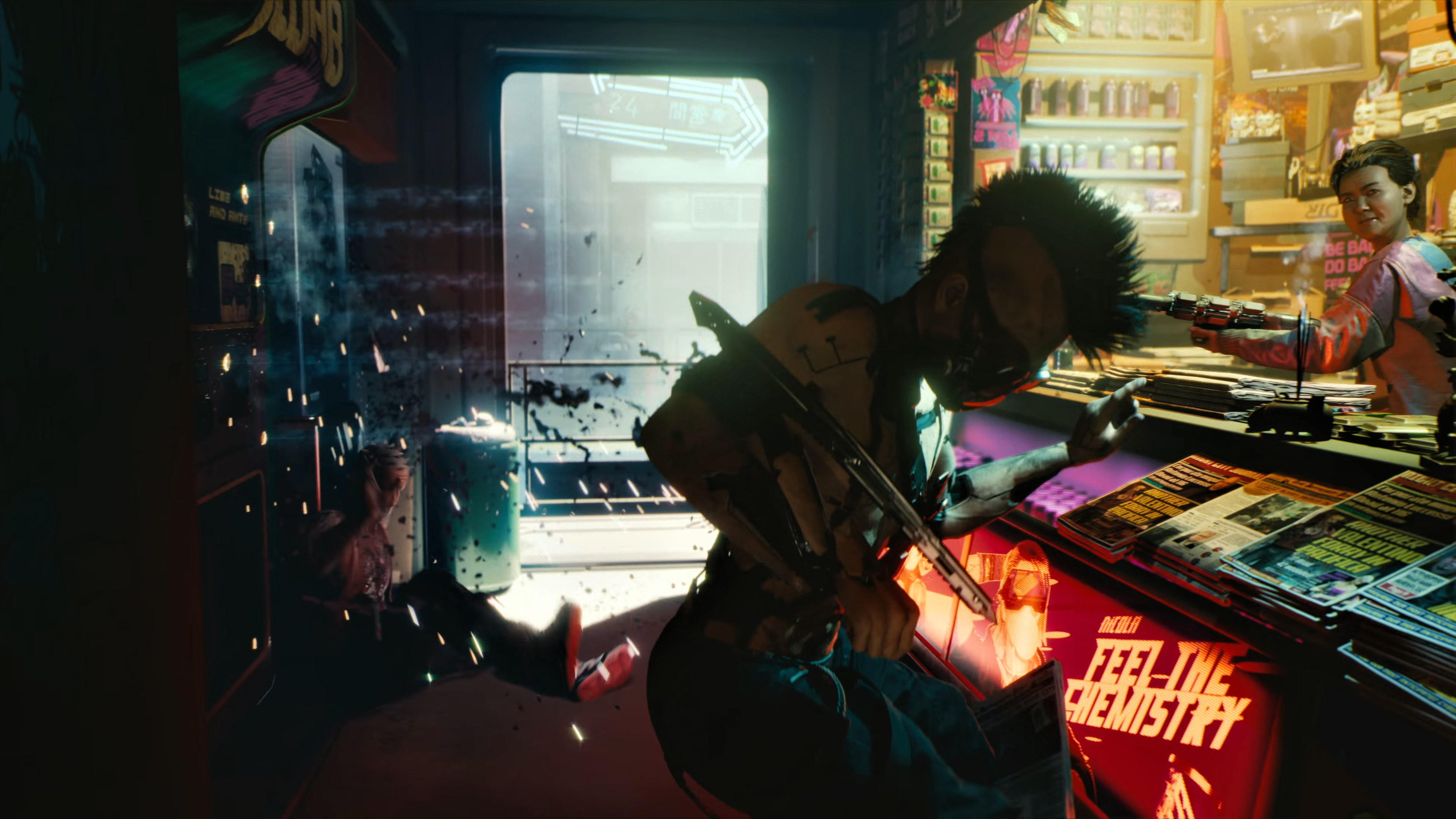 Cyberpunk 2077 4k Ultra Hd Wallpaper Background Image 3840x2160 Id 927303 Wallpaper Abyss