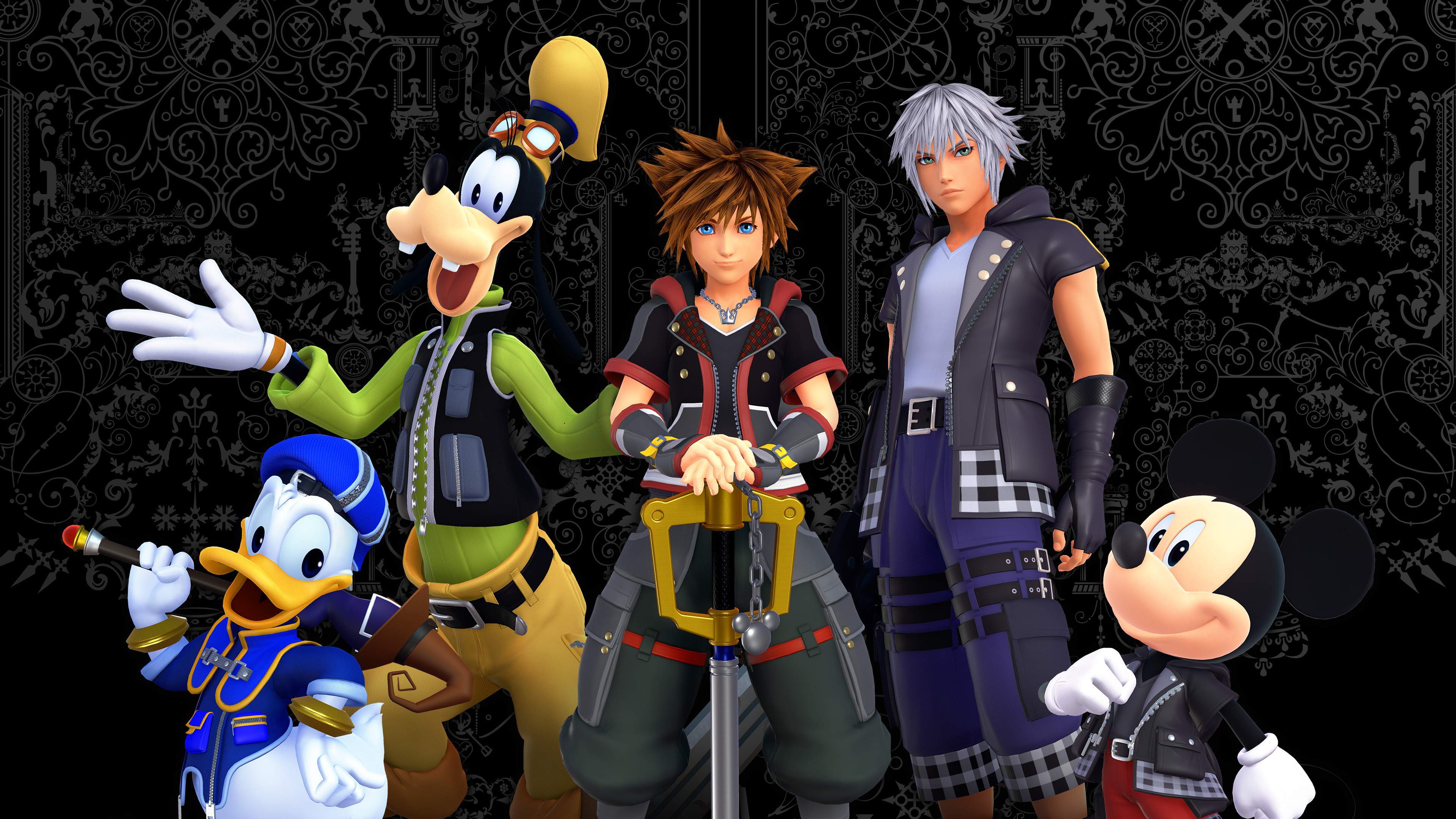 Kingdom Hearts III 4k Ultra HD ...