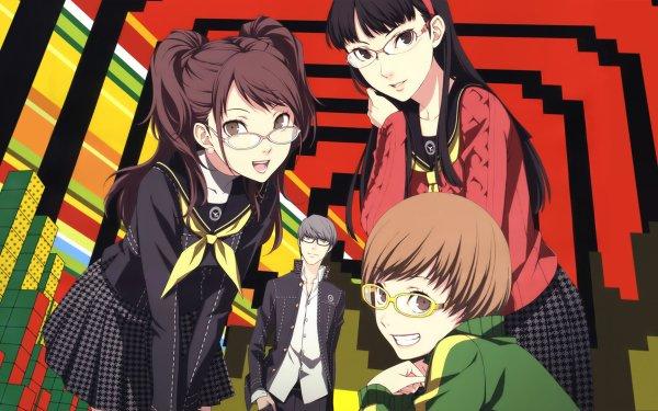 Video Game Persona 4 Persona Rise Kujikawa Yukiko Amagi Yu Narukami Chie Satonaka HD Wallpaper | Background Image