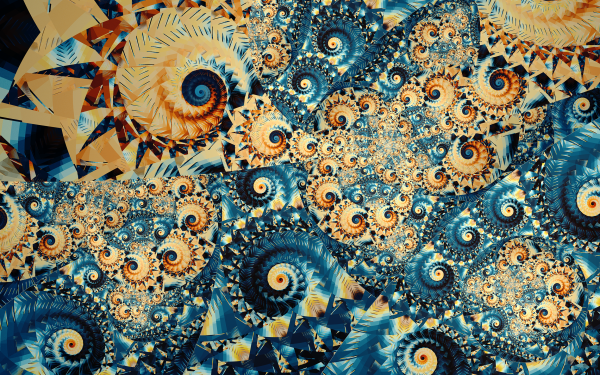 Abstract Fractal Swirl HD Wallpaper | Background Image
