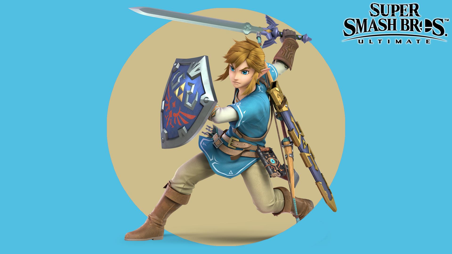 Super Smash Bros Ultimate Link Wallpaper Hd Wallpaper