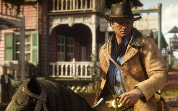 Video Game Red Dead Redemption 2 Red Dead Cowboy Red Dead Redemption Western Arthur Morgan HD Wallpaper | Background Image
