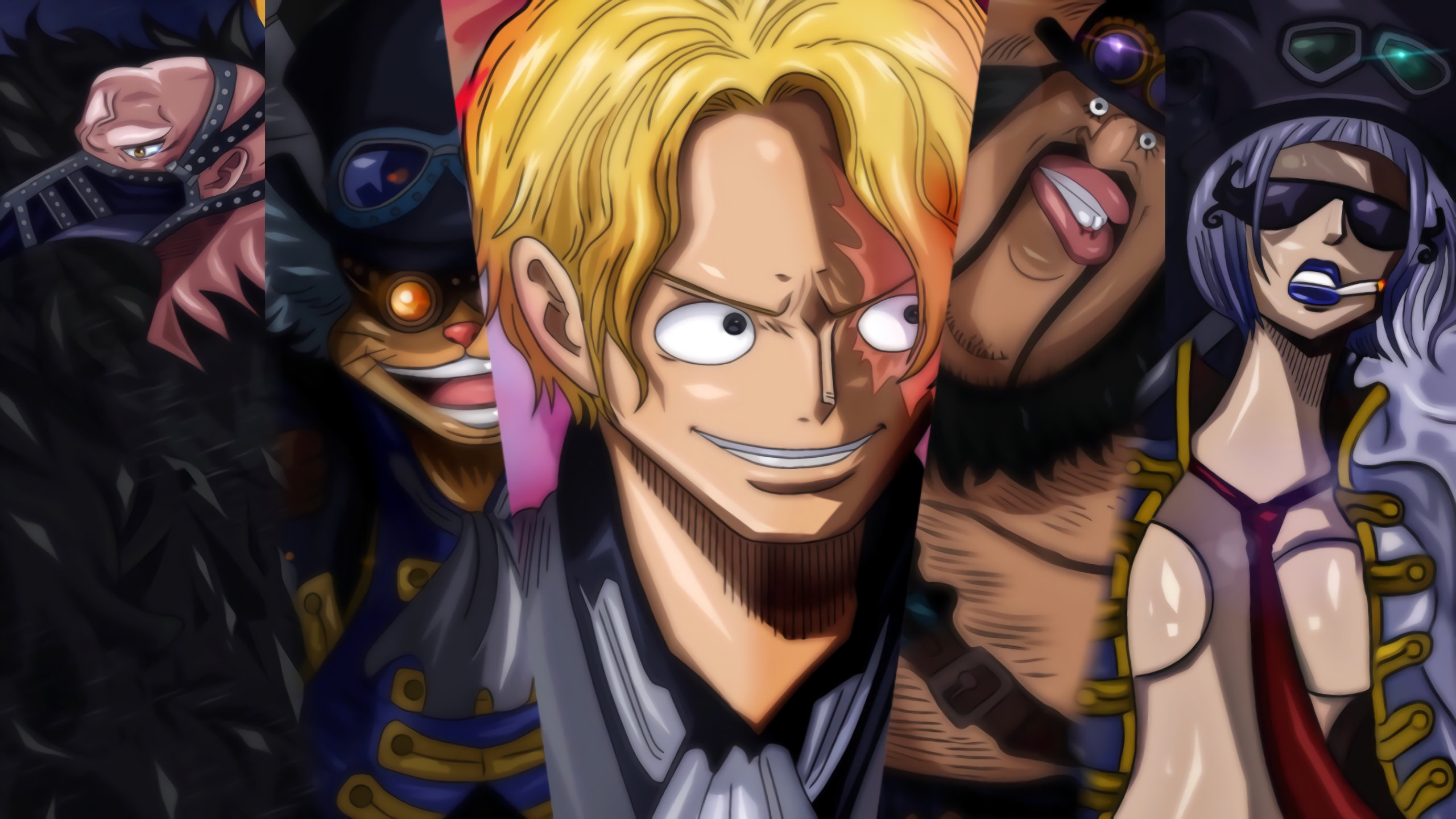One Piece Hd Wallpaper Background Image 2560x1440 Id