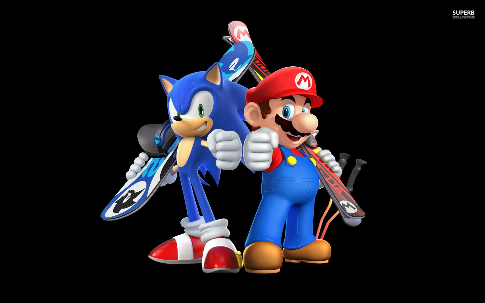 Mario Sonic Mario And Sonic At The Olympic Winter Games Sochi