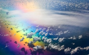 Earth - Rainbow Wallpapers and Backgrounds ID : 93260