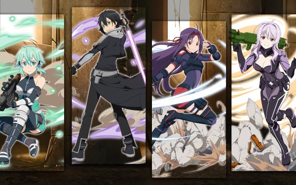 Video Game Sword Art Online: Fatal Bullet Sword Art Online Kirito HD Wallpaper | Background Image
