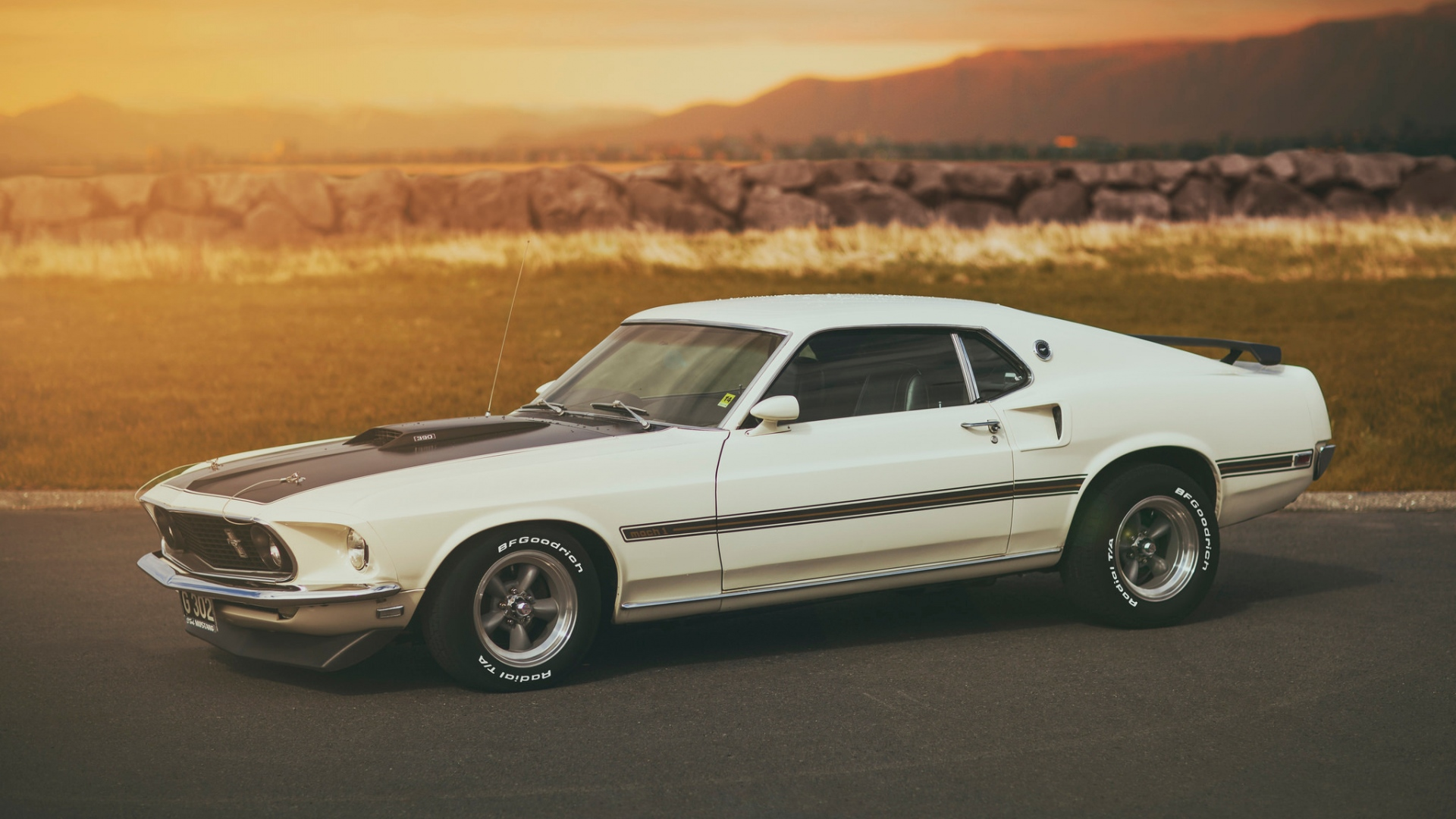 Ford Mustang Mach 1 Hd Wallpaper Background Image 1920x1080