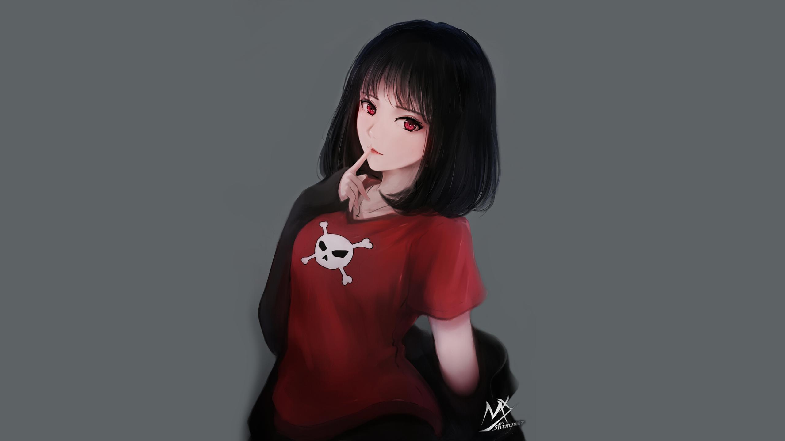 Anime Girl Hd Wallpaper Background Image 2560x1440 Id