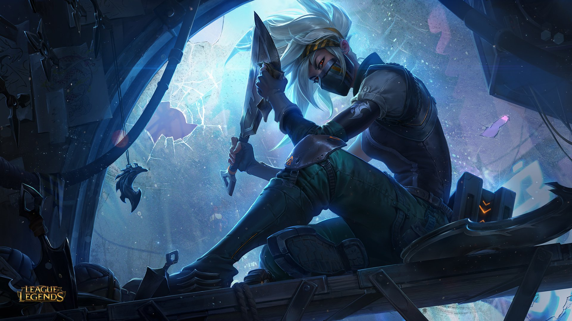 Silverfang Akali HD Wallpaper