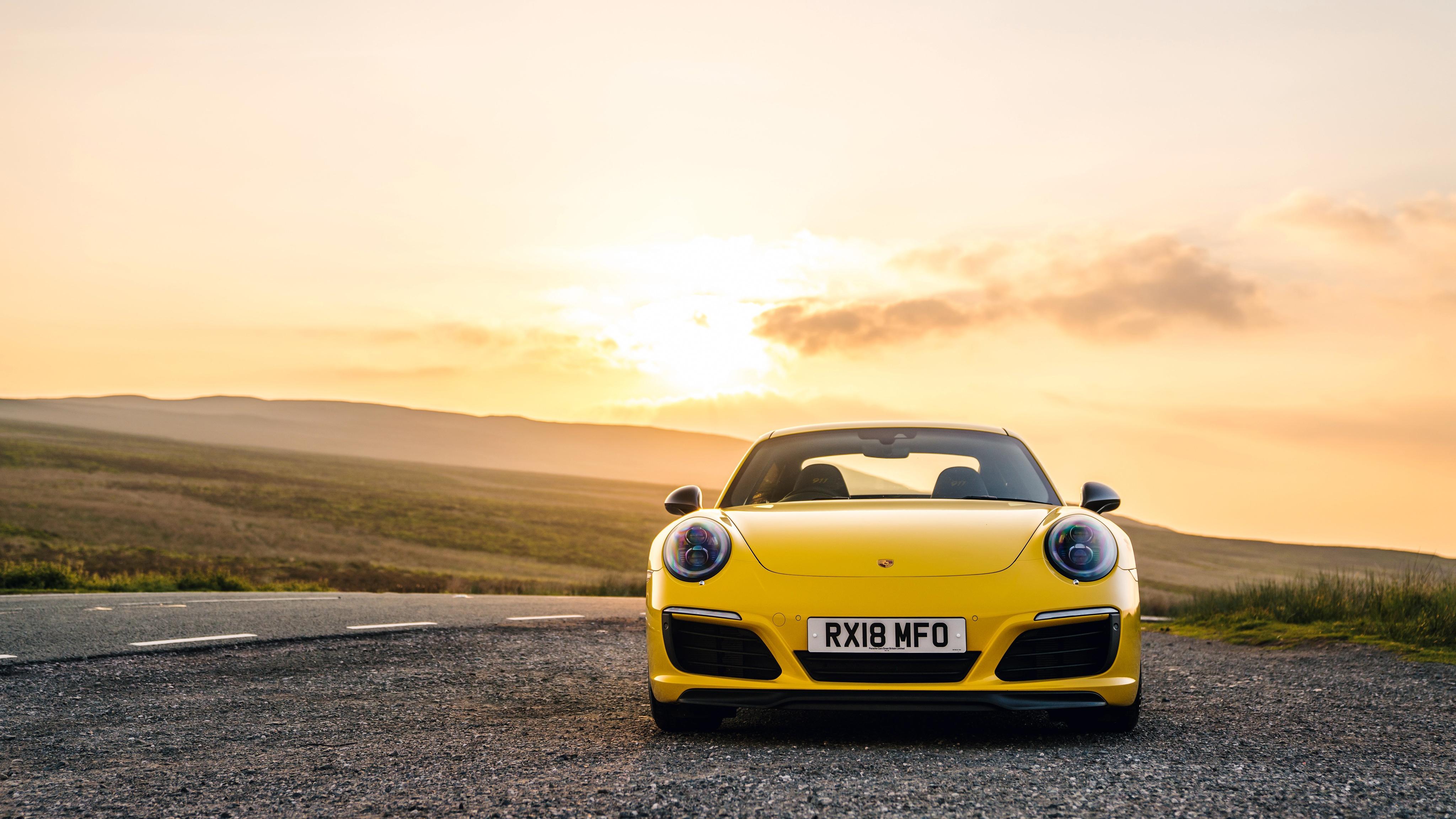 Porsche 911 Carrera T 4k Ultra Papel De Parede Hd Plano De Fundo 4096x2304 Id 937784 Wallpaper Abyss
