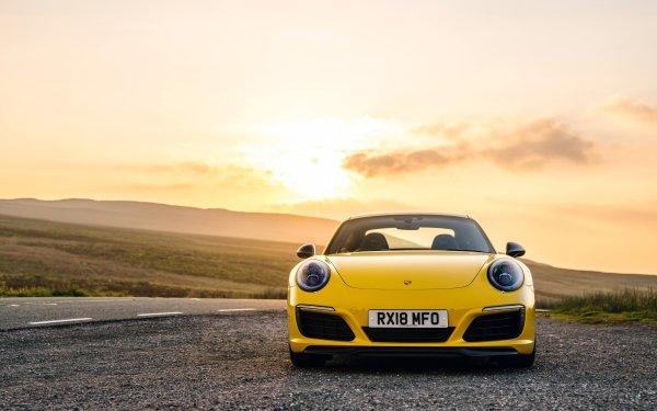 Vehicles Porsche 911 Carrera T Porsche Porsche 911 Car Yellow Car Sport Car Porsche 911 Carrera HD Wallpaper | Background Image