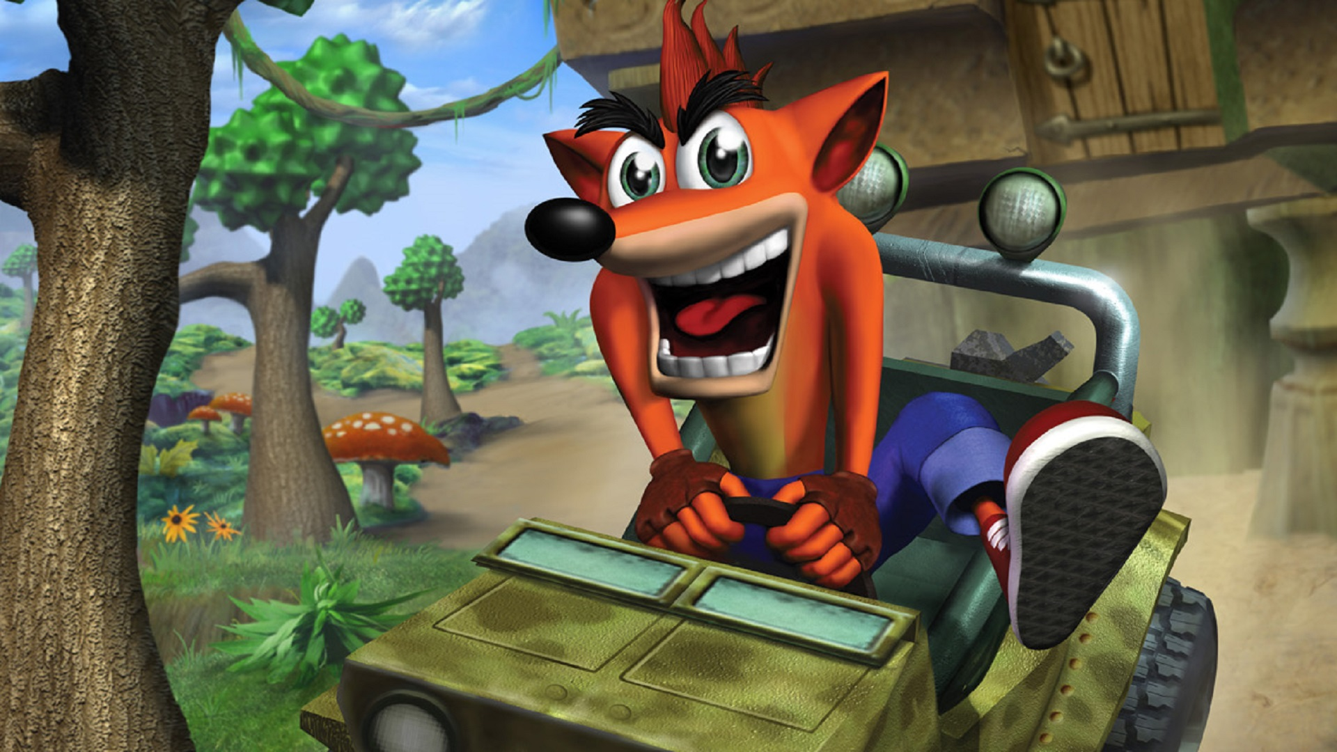 Crash Bandicoot: The Wrath of Cortex HD Wallpaper | Background Image