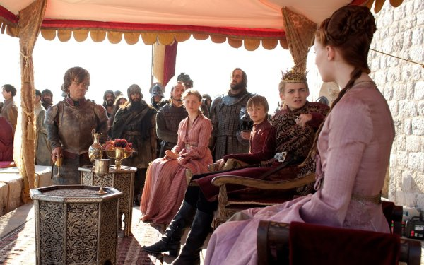 TV Show Game Of Thrones Sansa Stark Tyrion Lannister Joffrey Baratheon Sophie Turner Peter Dinklage Jack Gleeson HD Wallpaper | Background Image