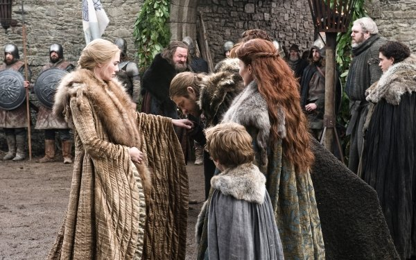 TV Show Game Of Thrones Cersei Lannister Lena Headey Eddard Stark Catelyn Stark Robert Baratheon Sean Bean Michelle Fairley Hodor House Stark Jon Snow Kit Harington HD Wallpaper | Background Image