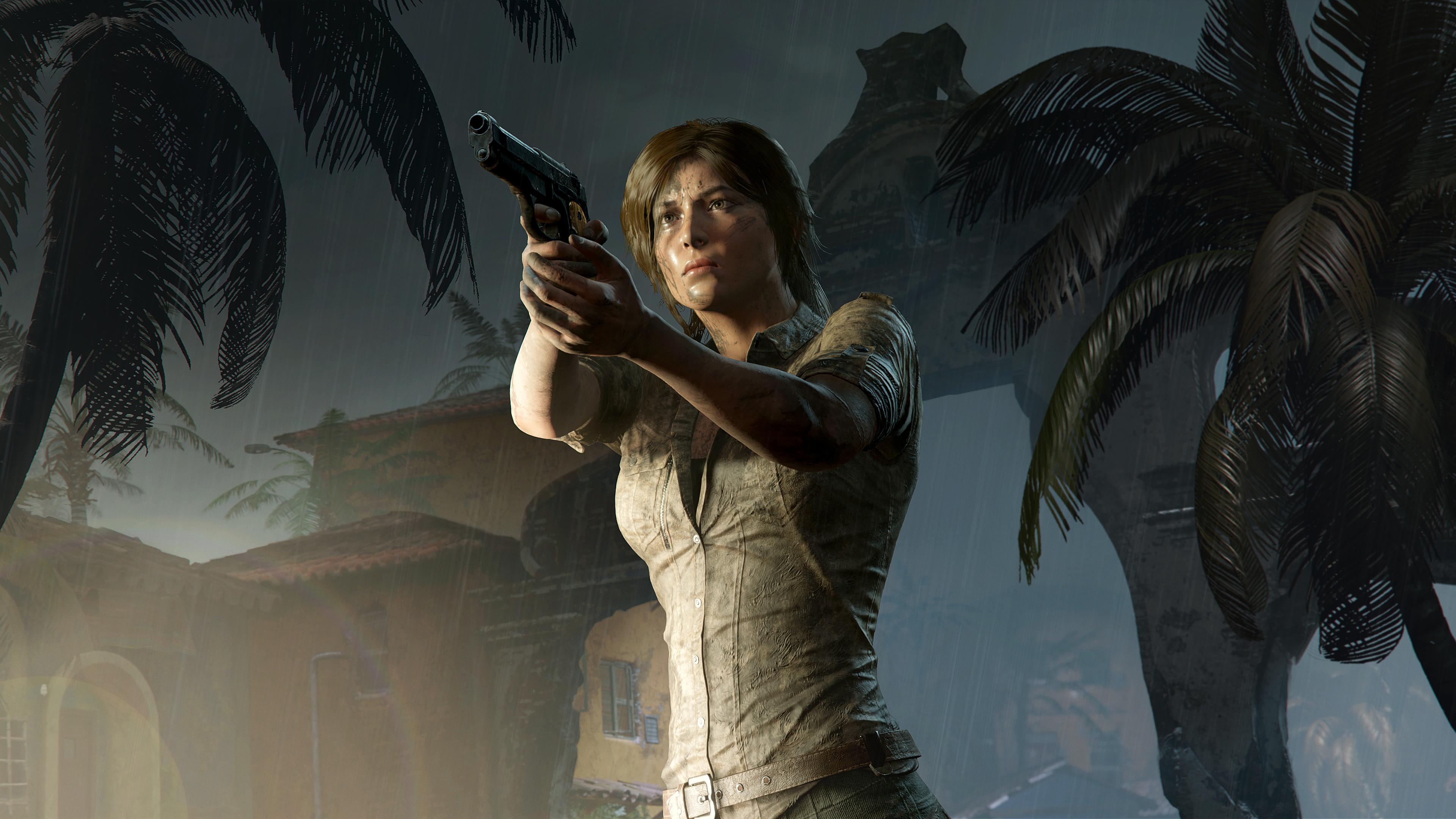 Shadow Of The Tomb Raider Lara Croft 4k Ultra Hd Wallpaper