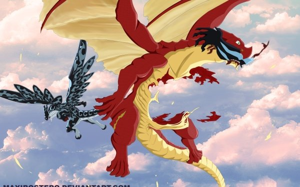 Anime Fairy Tail Igneel Acnologia HD Wallpaper | Background Image