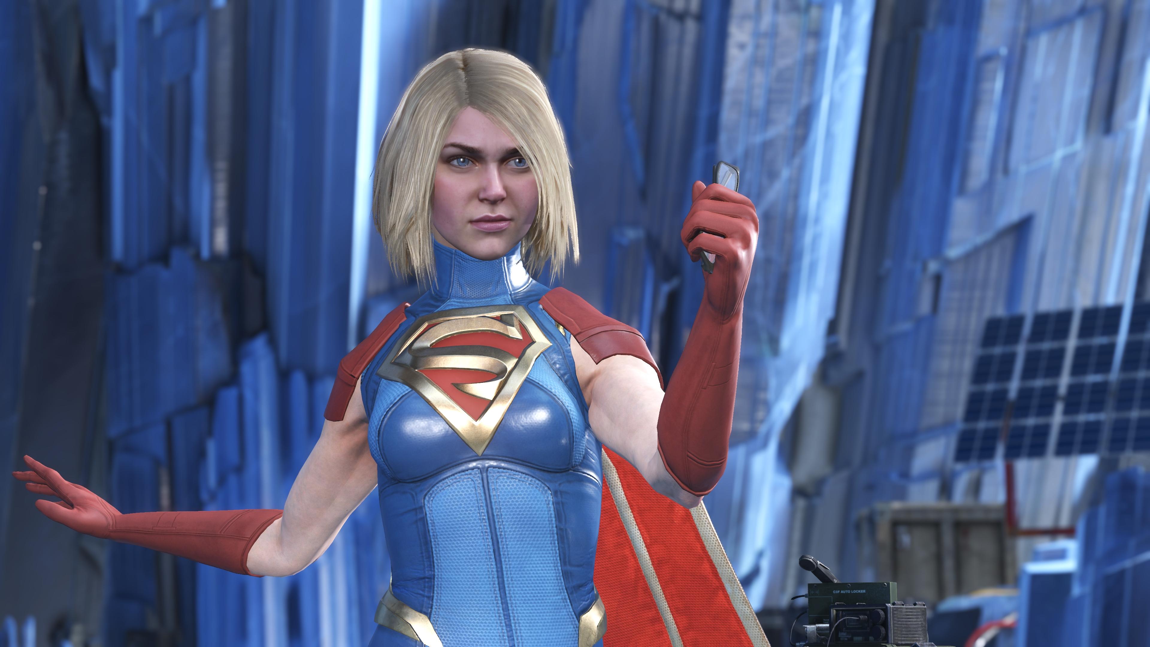 Injustice 2 Supergirl Wallpaper
