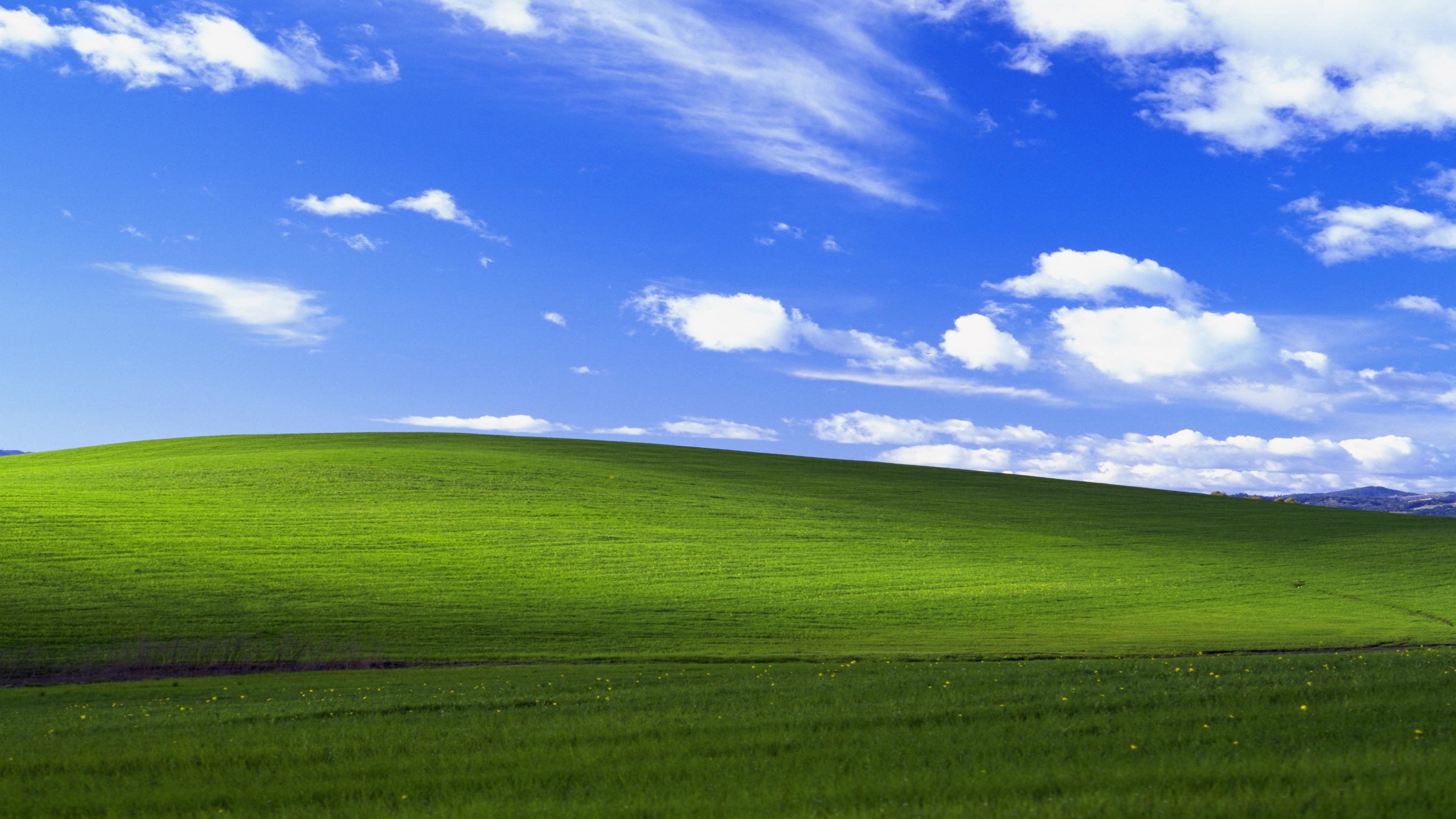 Обои Bliss, xp, windows. Windows foto 10