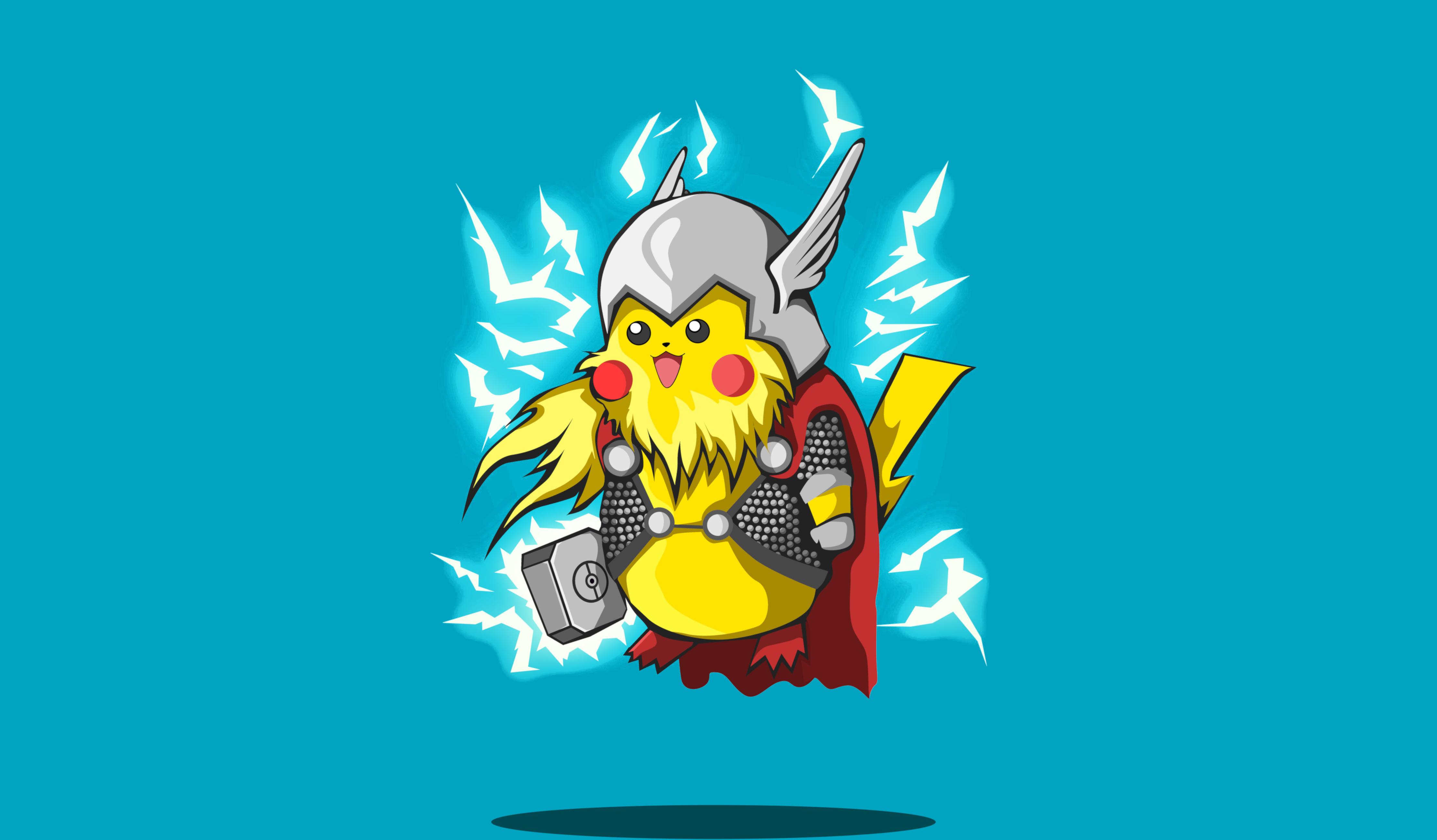 Pikachu 4k Ultra Hd Wallpaper Background Image 4445x2600 Id